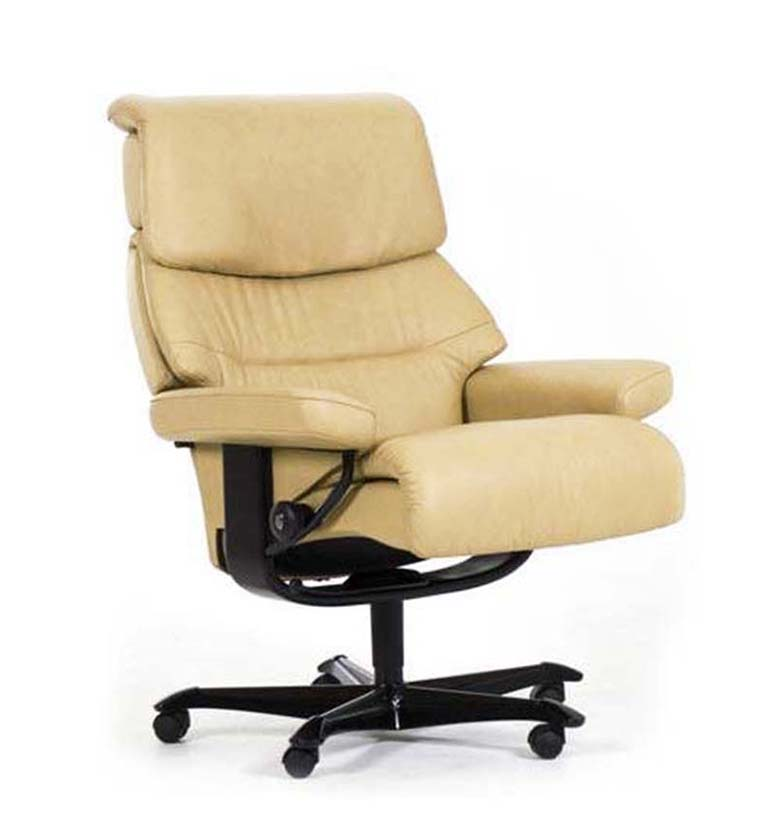 Stressless office chair vanilla