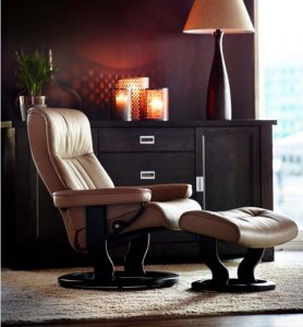 Stressless Crown recliner classic base