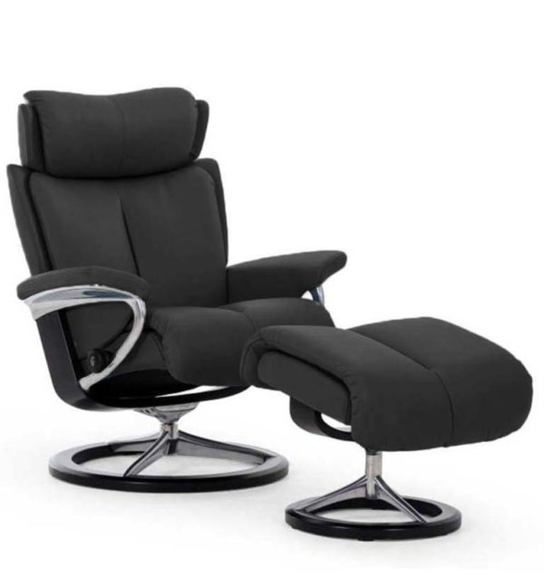 Stressless Magic recliner paloma black