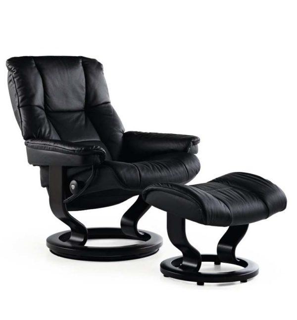 Stressless Mayfair recliner paloma black
