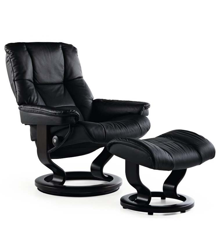Stressless Mayfair recliner paloma black
