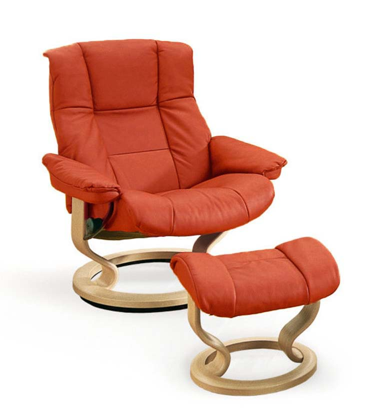 Stressless Mayfair recliner henna