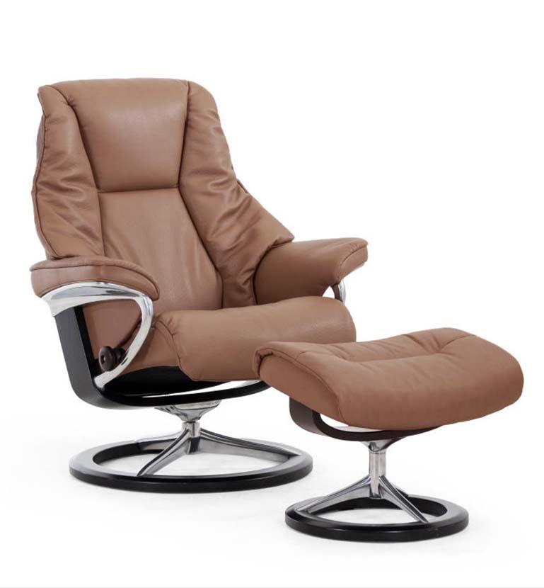 Live recliner, signature base, paloma funghi