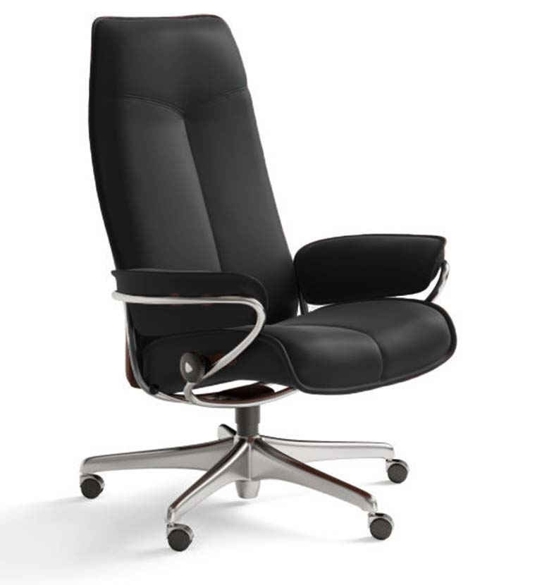 City office chair black