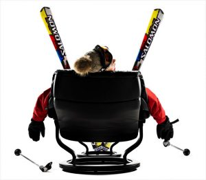 Stressless skiing