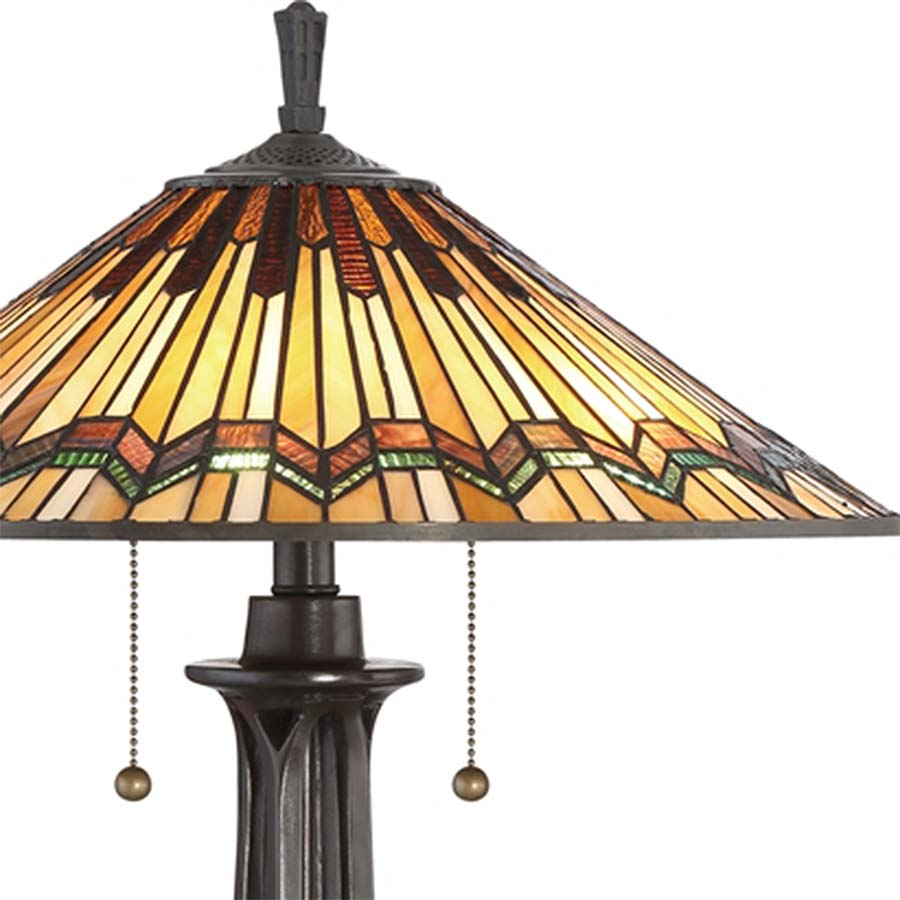 Alcott Tiffany Mission Table Lamp
