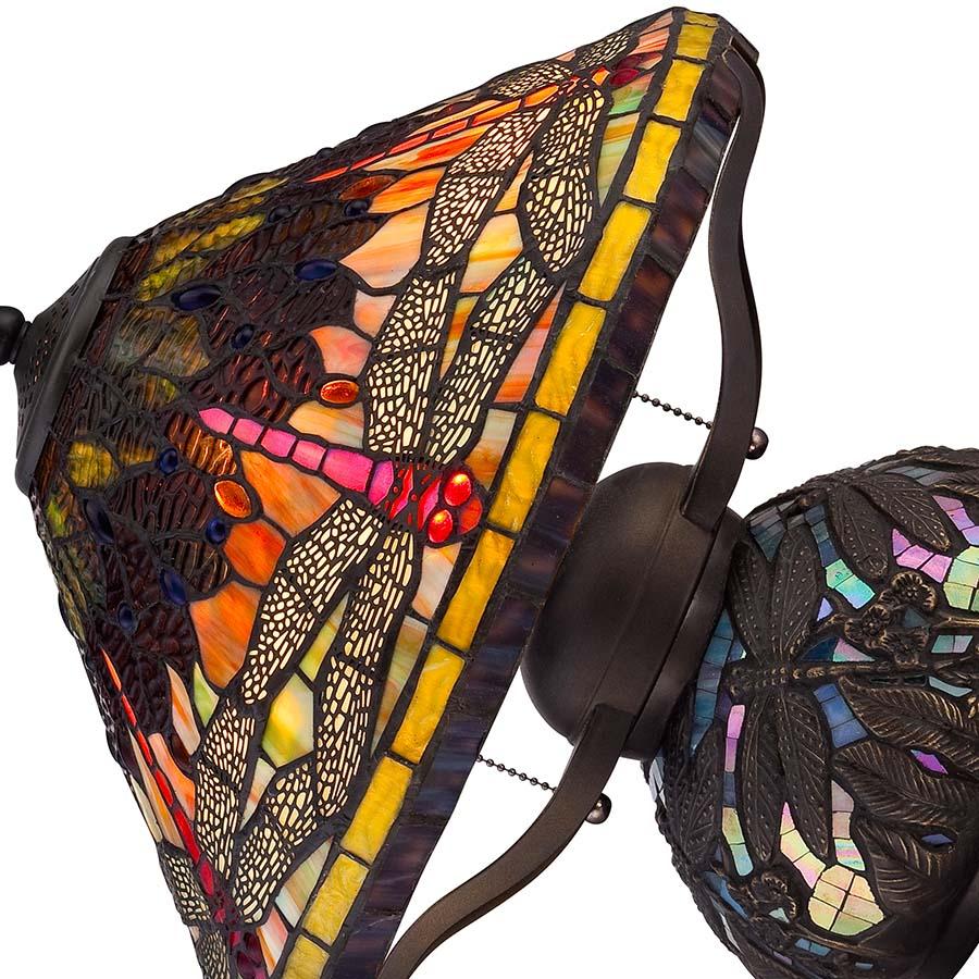 Tiffany Dragonfly lamp large base