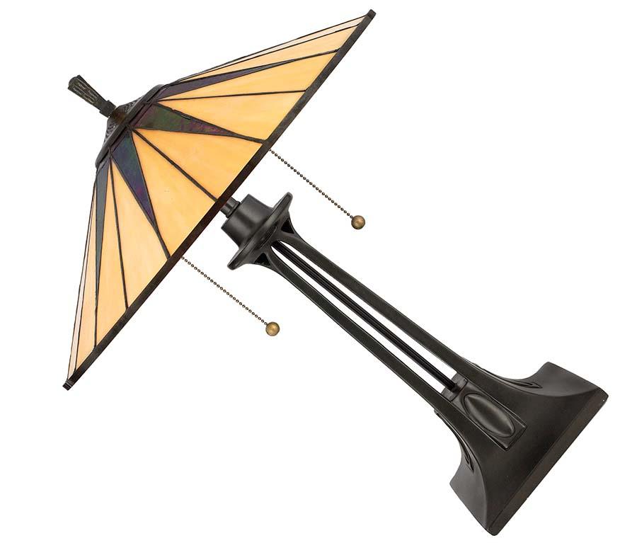 Quoizel Gotham Tiffany lamp