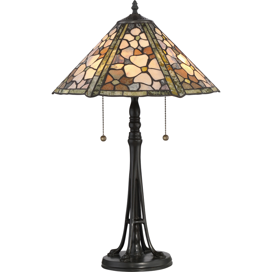 Jade Tiffany lamp