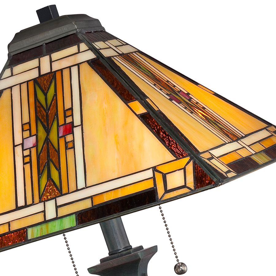 Navaho Tiffany lamp shade
