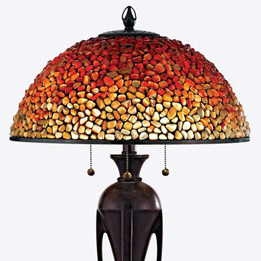 Pomez slender base lamp Quoizel