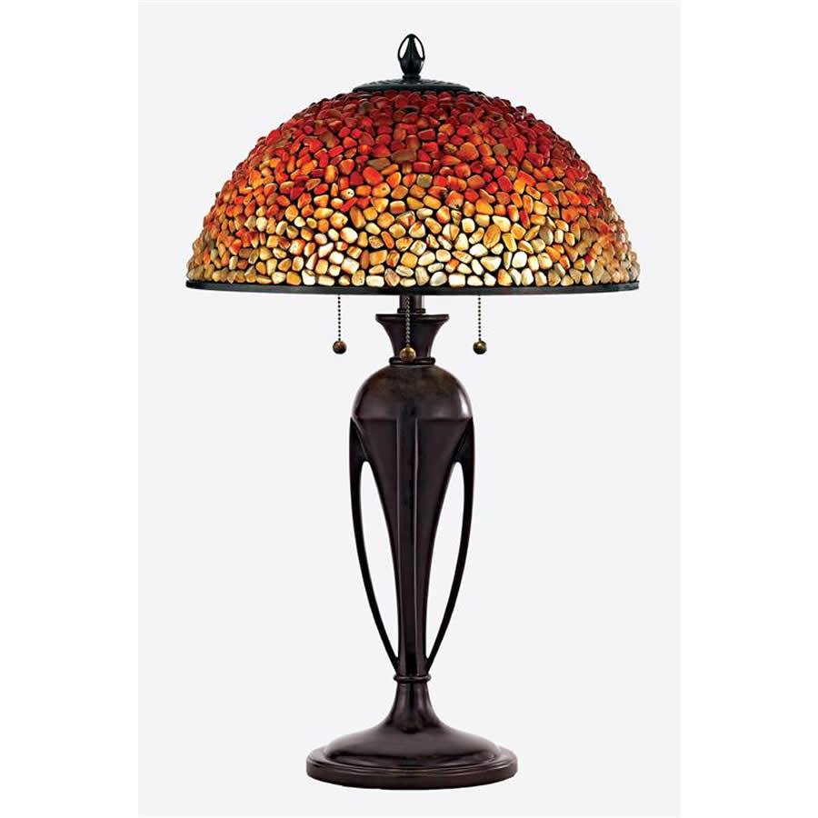 Pomez glass stone lamp
