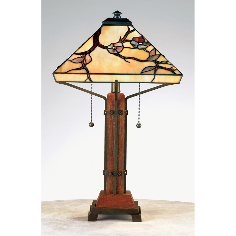 Quoizel Arts & Crafts lamp