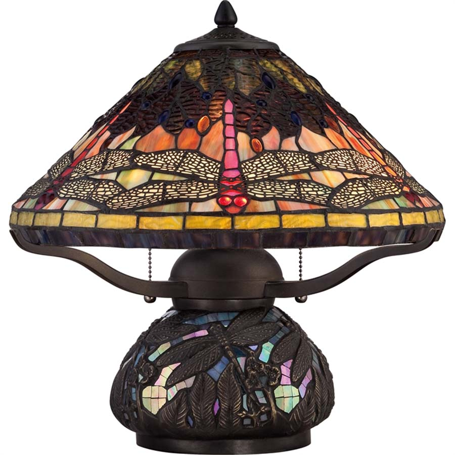 Tiffany Dragonfly Lamp Large Base
