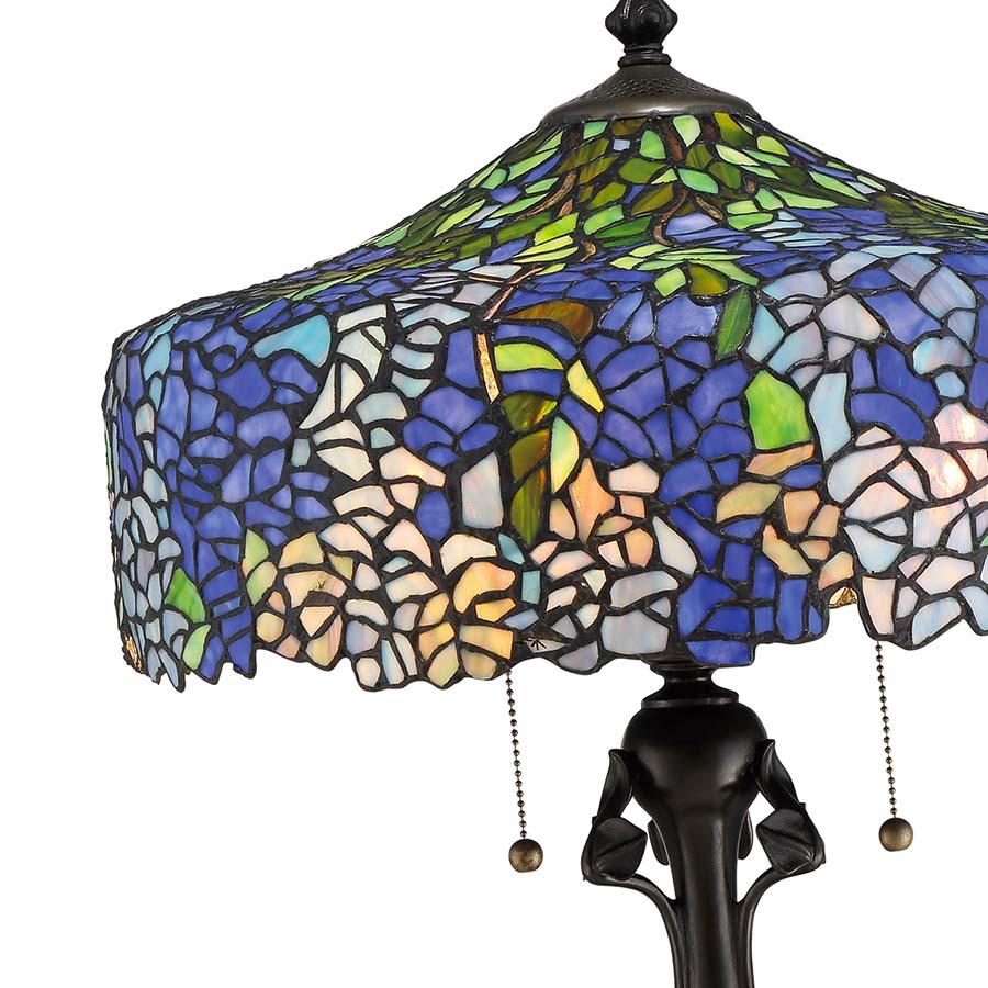 Tiffany Wisteria Quoizel lamp