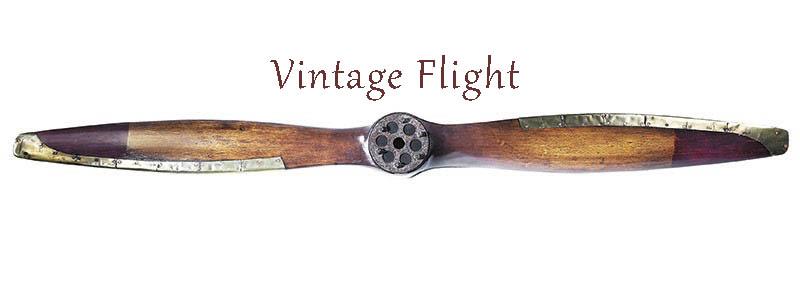 vintage flight authentic models propeller