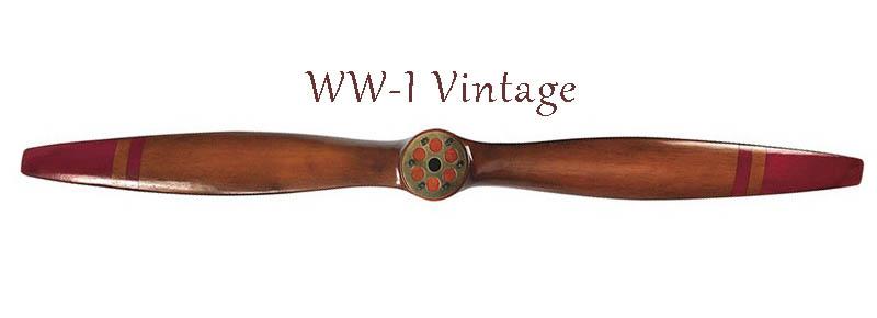 Vintage World War I propeller Authentic Models