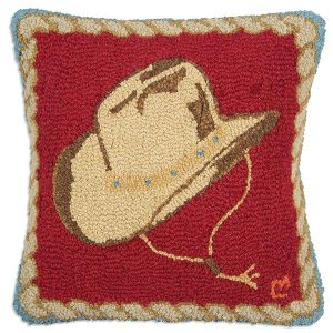 Cowboy Hat Throw Pillow