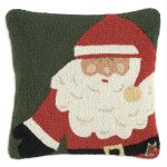165NOEL papa noel Chandler 4 Corners pillow