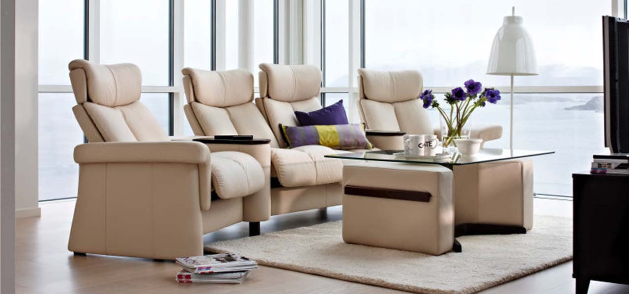 Legend theater seating by Stressless