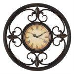 fleur de lis wall clock propac 8167