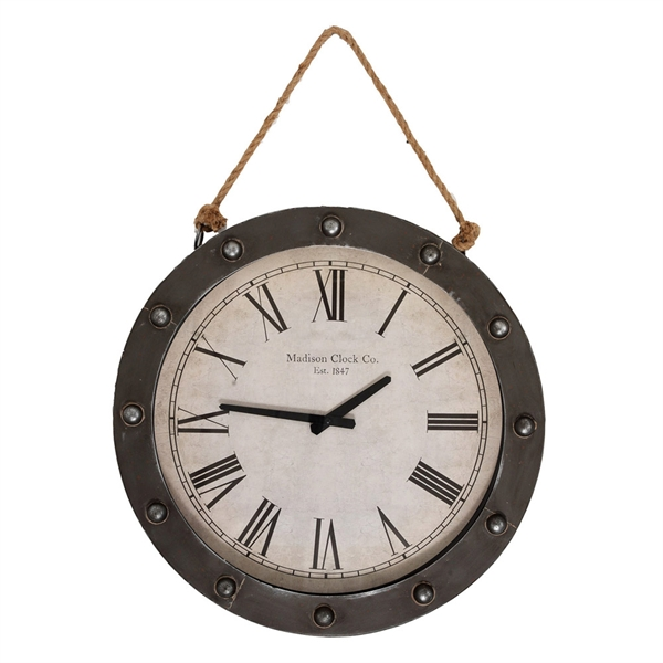 Madison Clock Company wall clock propac
