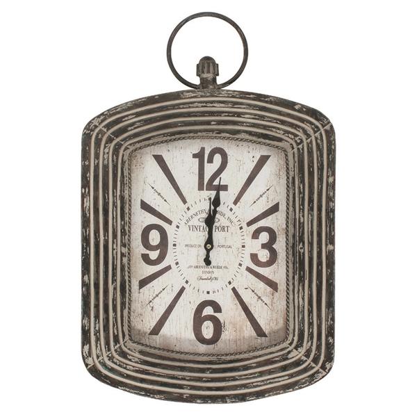 Vintage Port wall clock
