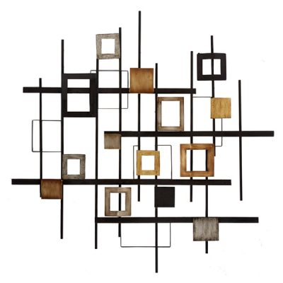 metal abstract wall art by Propac