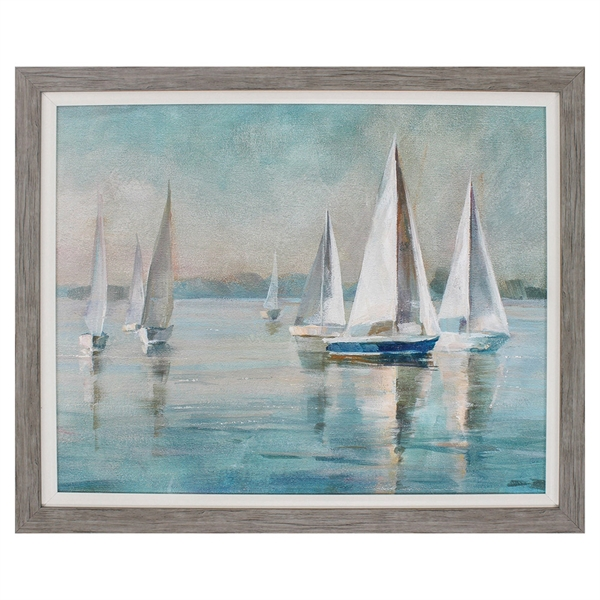 sailboats at sunrise propac