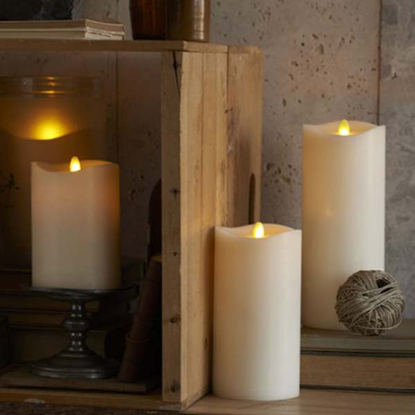 Flameless candles by Light Garden