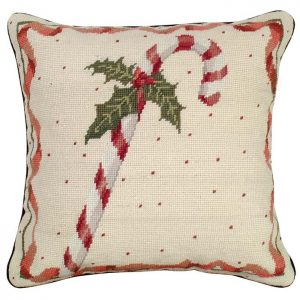 candy cane pillow