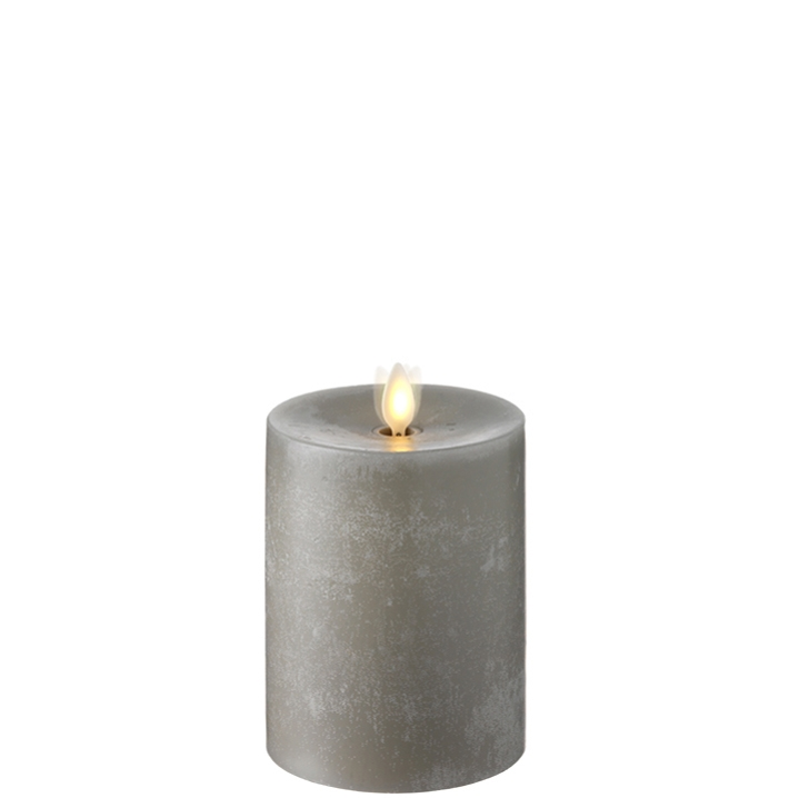 raz moving flame chalky candle 5 inch