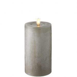 raz moving flame chalky candle 7 inch