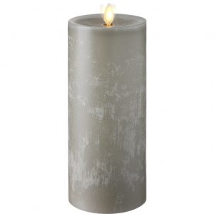 raz moving flame chalky candle 9 inch