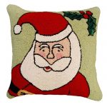 happy santa michaelian home pillow