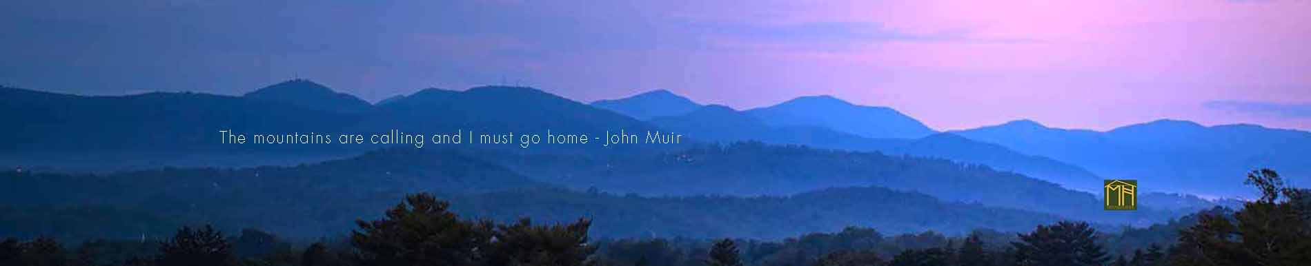 smoky mountains north carolina evening