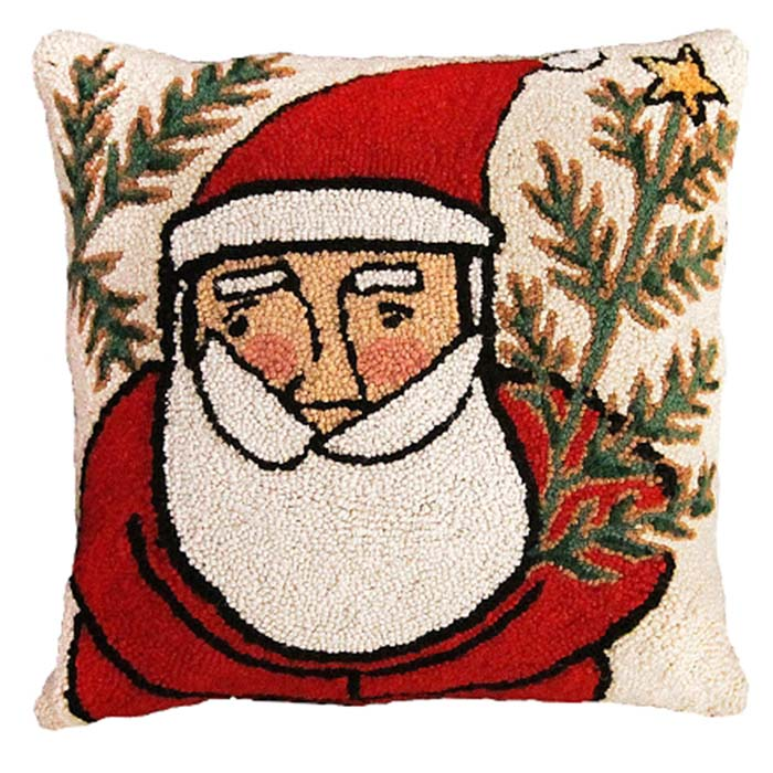 western santa michaelian home pillow