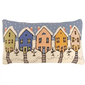 old town michaelian holiday pillow