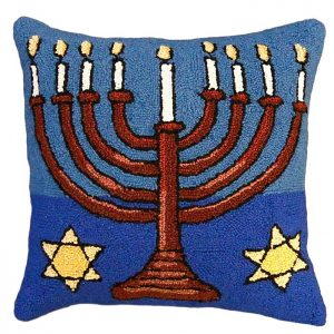 menorah michaelian home pillow