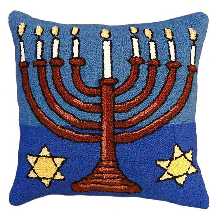 menorah michaelian home pillow