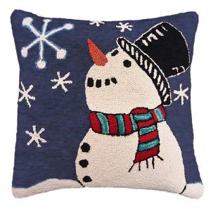 starry snowman michaelian home pillow
