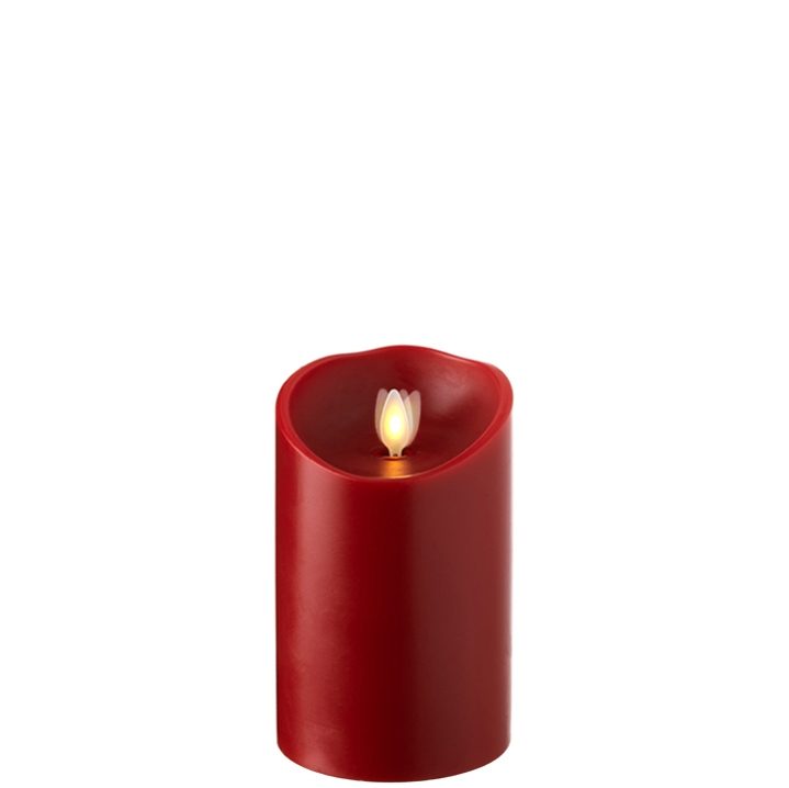 raz moving flame red candle 5 inch
