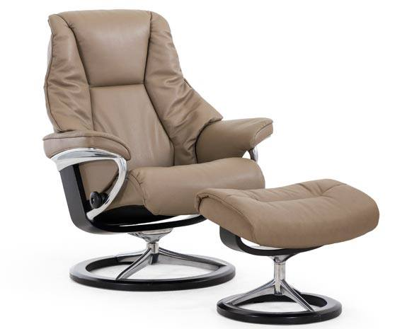 stressless live recliner signature base