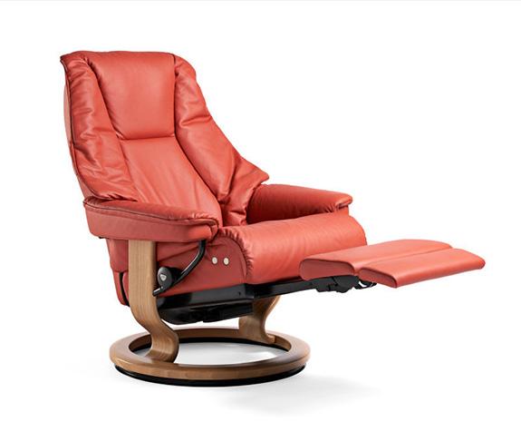 stressless live recliner leg comfort