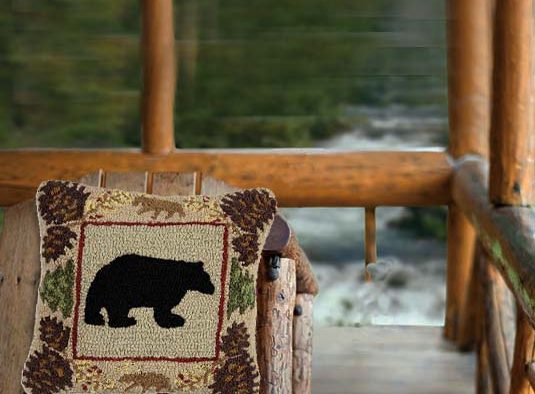 In the Northwoods, at a cabin, a bear is expected, but not for dinner