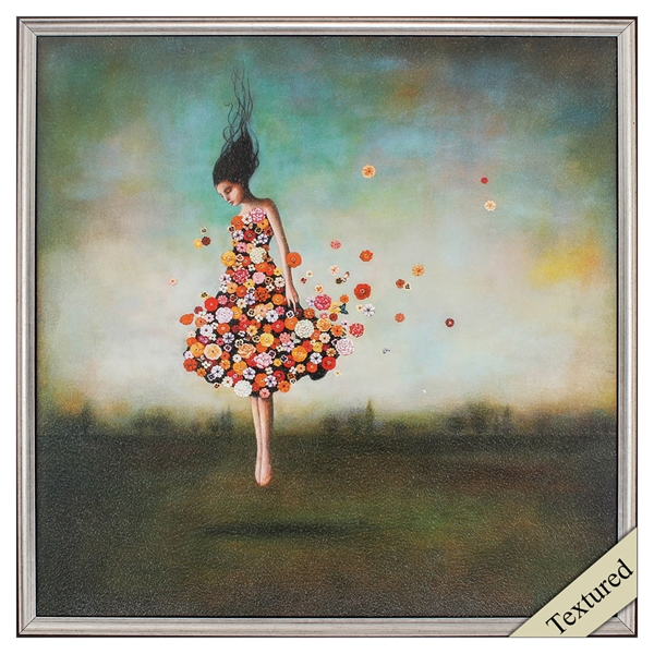 boundlessness in bloom girl floating in air propac images