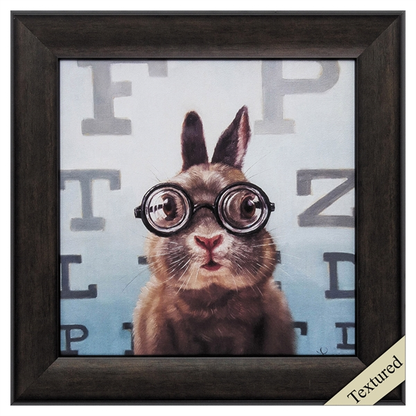 four eyes feline eye exam propac images framed art