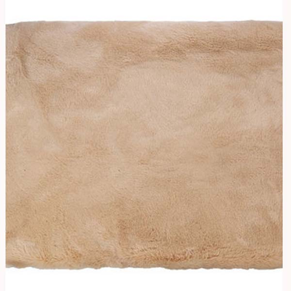 Arctic caramel bedford cottage faux fur throw