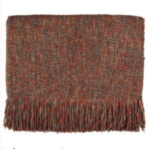 melange pecan woven throw bedford cottage kennebunk home