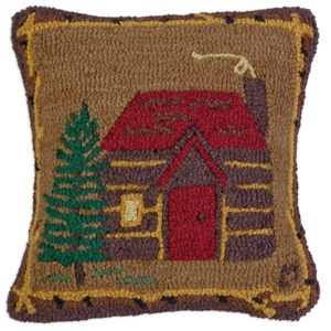 cabin in the woods chandler 4 corners throw pillow